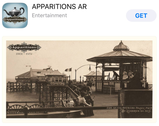Apparitions IOS app
