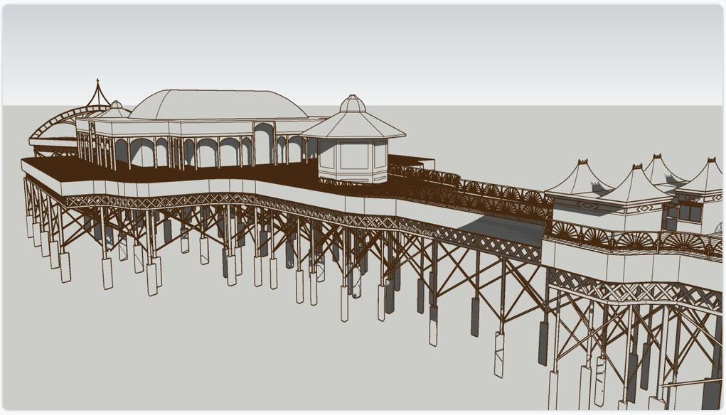 SL Pier plan sketchup